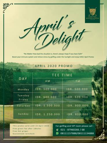April's Delight